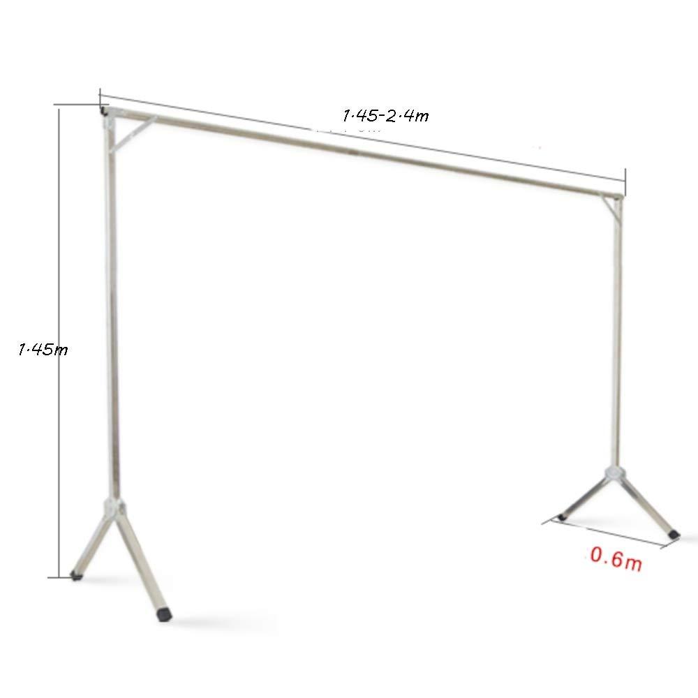 6ft 2 x 1.8 Metres Long Clothes Rail Heavy Duty Hanging Garment Display