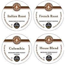 Barista Prima European K-Cup Coffee Sampler (4 Boxes of 24)