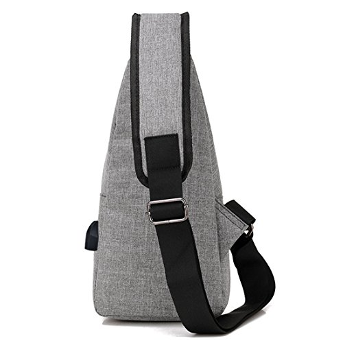 Rucksack Bags Body Camping Grey Sport Sling Shoulder Light Cross Backpack Gym Bag Biking For Cycling Popular Small Chest School xw8pYqFpz