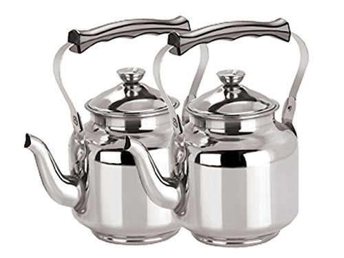 Kuber Industries Stainless Steel Tea Kettle,Serving Tea Kett