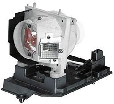 Projector Lamp Assembly with Genuine Original Philips UHP Bulb inside. S500 Dell Projector Lamp Replacement