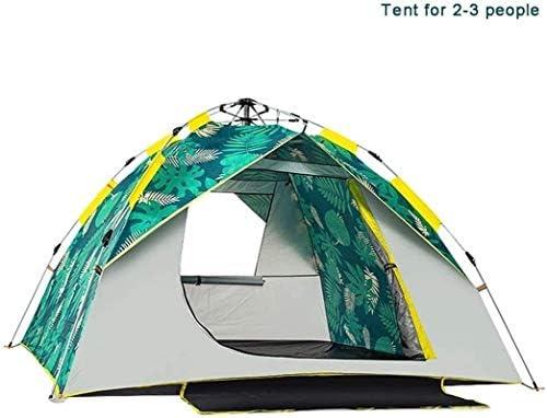Stal Waterdichte Instant Pop Up Tent 2-3 Persoon Camping Tent, Instant Set Up, Outdoor Hiking Backpacken tent Shelter, eenvoudig te installeren Draagbaar