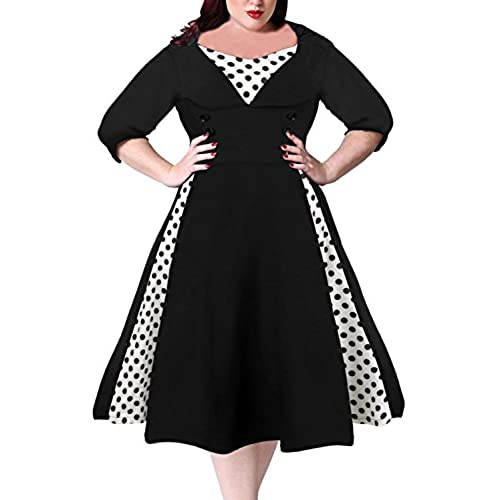 Plus Size 1950s Vintage Dresses Amazon Com