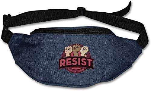 ユニセックス屋外ファニーパックバッグベルトバッグスポーツウエストパックに抵抗します。