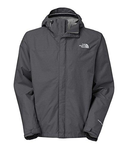 The North Face Men's Venture Jacket, Asphalt Grey Heather LG ()