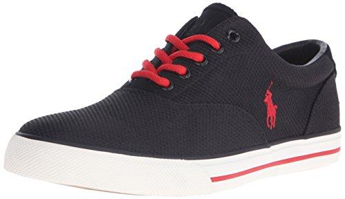 Polo Ralph Lauren Men's Vaughn Dotted Mesh Fashion Sneaker, Black, 11 D - Buy Polo Ralph Lauren