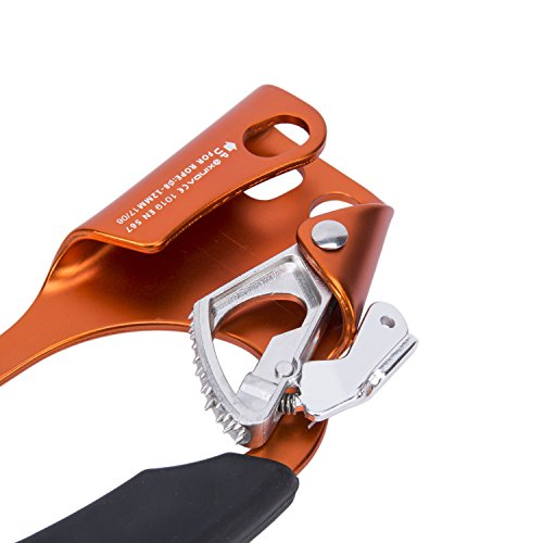 Outdoor Mountaineering Climbing Hand Ascender for 8 12MM Rope Left Right Hand