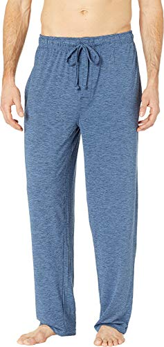 Jockey Men's Cool-Sleep Sueded Jersey Pants Open Blue Large ()