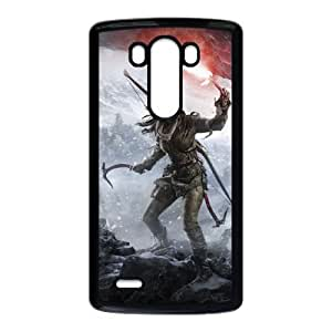 rise of the tomb raider lara croft at a cave entrance LG G3 Cell Phone Case Black gift pjz003-3826315