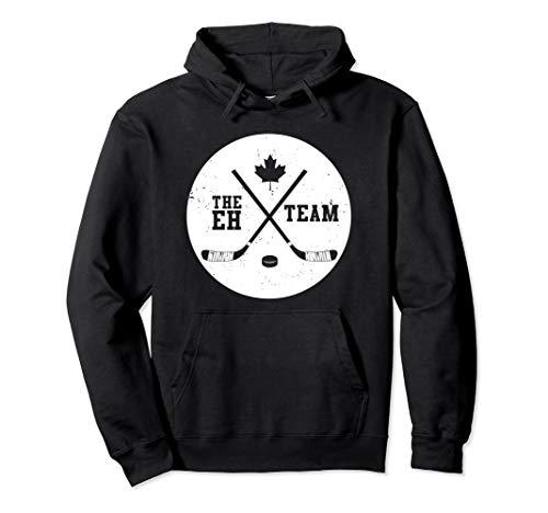 Canada Eh Team Cool Hockey Hoodie