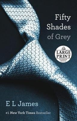 [ Fifty Shades of Grey (50 Shades Trilogy #01) - Large Print By James, E L ( Author ) Paperback 2012 ]