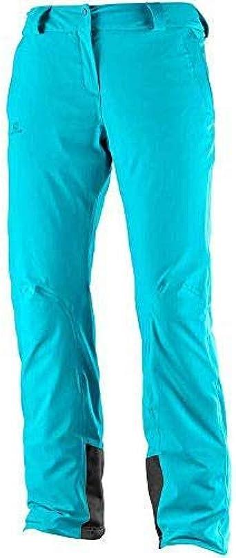 SALOMON Women's's Icemania Regular Trousers: Amazon.co.uk