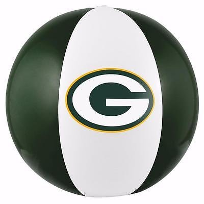 NFL Green Bay Packers Beach Ball, One Size Fits All, Team -