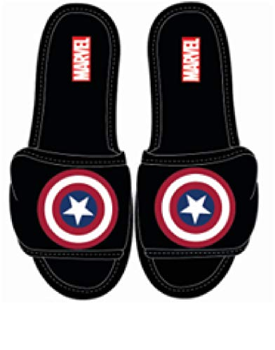 Marvel Comics Captain America Shield Adult Slipper, Medium