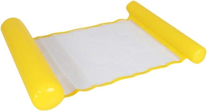 Wakauto Silla Inflable para Adultos,Silla Inflable para Piscina de la Silla Inflable de Flotación de la Silla de la Balsa del Reclinable de la Hamaca de la Cama del Flotador del Agua para Playa