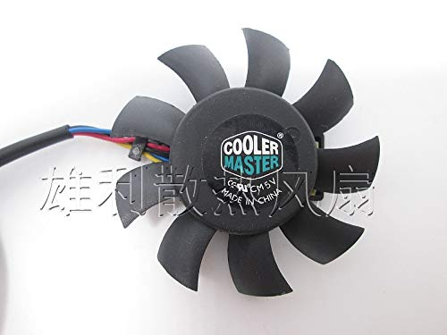 REFIT 5010 5V 0.35A MGT5005XF-W10 5CM Graphics Card Cooling Fan