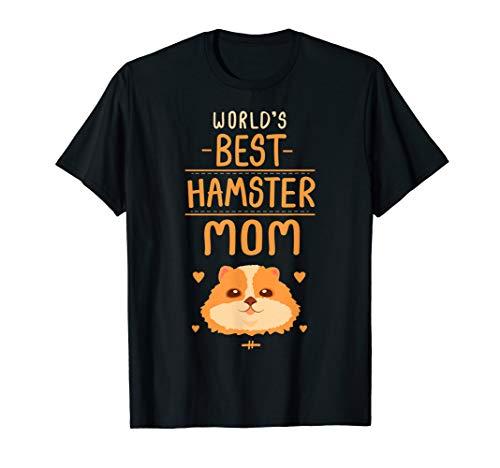 Hamster Mom T Shirt Gift Idea Kids Women Girls Hammy Costume ()