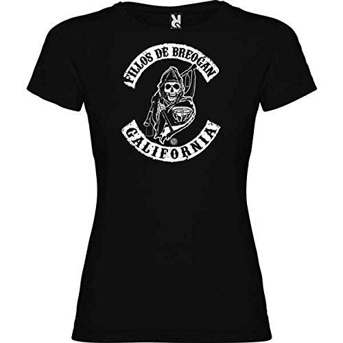 Rei Zentolo Breogán-T-shirt pour femme Noir Taille XL