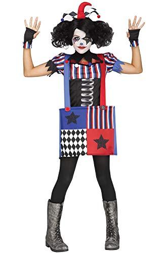 Fun World Jumpin Jack Girl's Joker Costume (8-10)]()