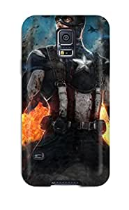 Galaxy S5 Case Cover - Slim Fit Tpu Protector Shock Absorbent Case (avengers) 4255150K26369884