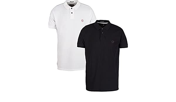Weekend Offender - Polo - para Hombre Negro Negro Small: Amazon.es ...