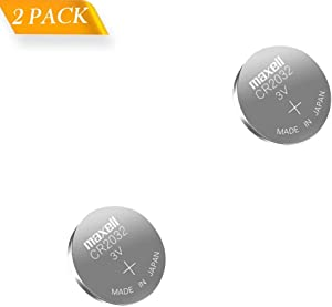 LeFix 2 Pack Replacement CMOS BIOS RTC Battery CR2032 for Dell Optiplex 740,745,755,760,780,790 Computer M5010 N5110 N5010 N4010 N4030 HP Pro 6000 8000