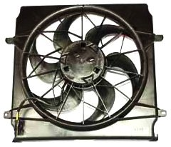 TYC 620520 Jeep Liberty Replacement Radiator/Condenser Cooling Fan ()