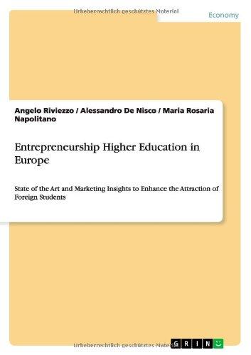 Read Online Entrepreneurship Higher Education in Europe pdf epub