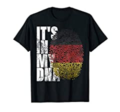 Perfect Gifts Idea for for Men, Women - It's In My DNA German T-Shirt on Birthday, Christmas, Bday, Xmas, Mother's Day, Father's Day, Valentine's Day, Anniversary, Wedding, Graduation, Retirement, Saint Pattys, Paddys Day, July 4th, USA Indep...