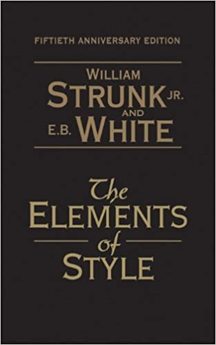 Amazon The Elements Of Style 50th Anniversary Edition