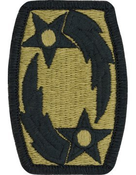 69th Air Defense Artillery ADA Scorpion OCP Patch with Fastener (69th Air Defense Artillery)