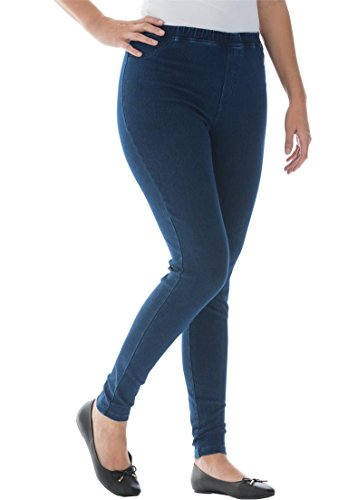 Jessica-London-Womens-Plus-Size-5-Pocket-Knit-Leggings