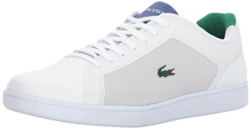 Lacoste Men's Endliner 317 2 Sneaker, Green, 8.5 M US