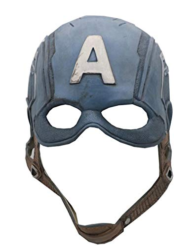 Captain America Helmet Mask for Men Endgame£¨Latex£ -