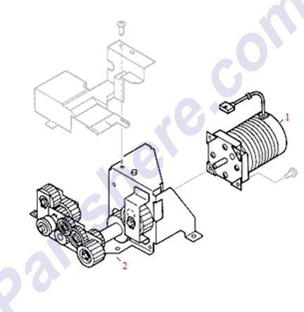 000cn Main Motor - 8