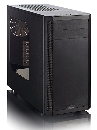 FRACTAL Design Core 3500 No Power Supply ATX Mid Tower Case FD-CA-CORE-3500-BL-W, Black (Fractal Design Cpu Cooler compare prices)