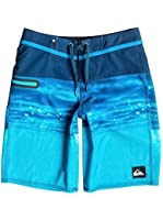 Quiksilver Boys Hold Down Vee 18 Boardshort Estate Blue