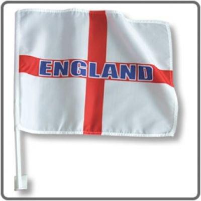 England Car Flags x 2 Car Accessories