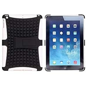 Tiro estilo TPU y PC de nuevo caso con el soporte para el mini iPad 2 (colores surtidos) , Rojo