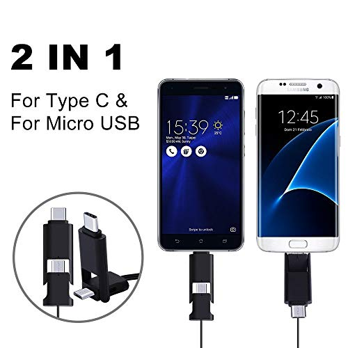 Buy charger micro usb retractable