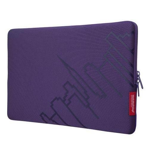 Manhattan Portage Macbook Pro Skyline Laptop Sleeve (Purp...