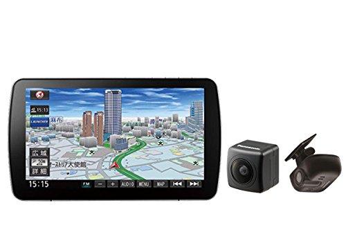 パナソニック9V型ストラーダBlu-ray再生CD録音Bluetooth地デジSDナビCN-F1SD+ドラレコCA-DR02D+バックカメラCY-RC90KDセット B075Y31JGZ
