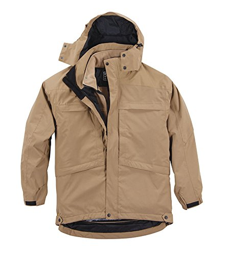 5.11 Tactical #48032 Aggressor Parka (Coyote Brown, Large)