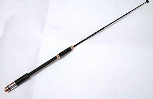 AL-800 HighGain Dual Band Extendable Antenna SMA-Female for Two Way Radio