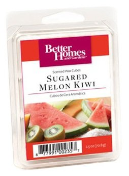 Better Homes and Gardens Sugared Melon Kiwi Wax Cubes