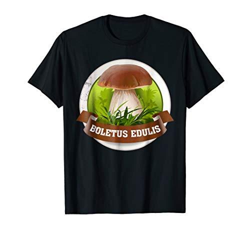 Mushroom Shirt - Boletus Edulis T-Shirt - Specimen Hunting