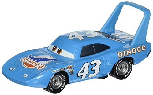 Disney/Pixar Cars, Piston Cup Die-Cast Vehicle, Strip Weathers AKA The King #10/16, 1:55 Scale