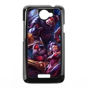 HTC One X Cell Phone Case Black League of Legends SKT T1 Jax LM5667563