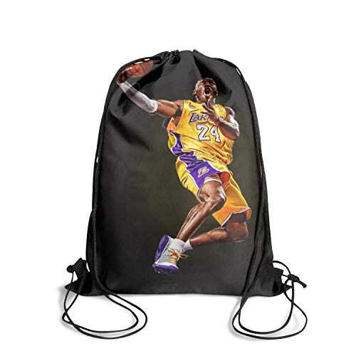 Leopoldery Sport Gym Drawstring Backpack Bag