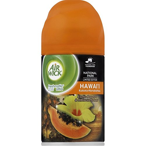 Air Wick Freshmatic Automatic Spray Air Freshener, National Park Collection, Hawaii Scent, 1 Refill, 6.17 Ounce (Pack of 2) by Air Wick